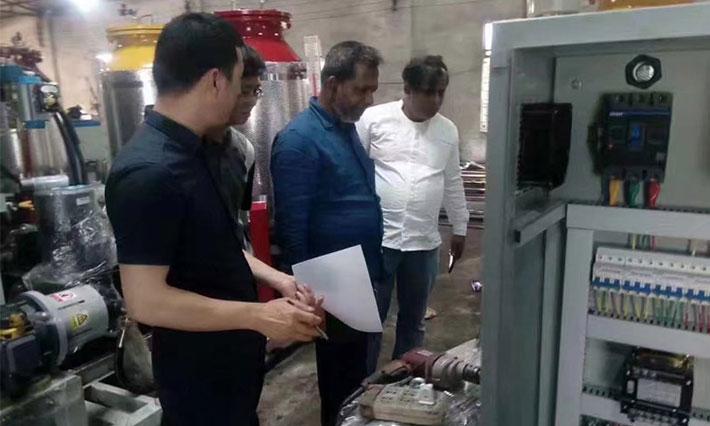 孟加拉冷柜客户