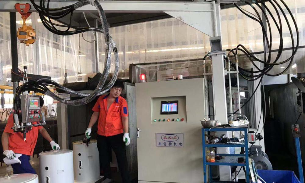 山东热水器环戊烷发泡机