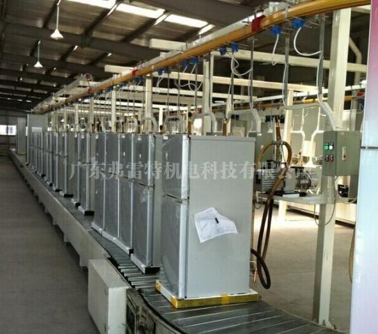冰箱全自动发泡生产线生产