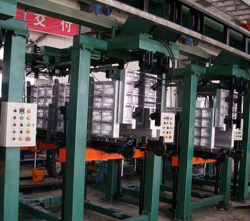 大型冷柜全自动发泡生产线厂家