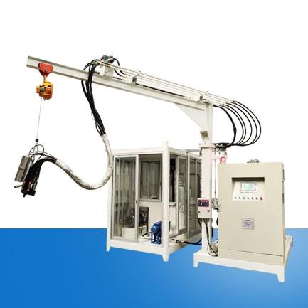保温箱环戊烷高压发泡机设备