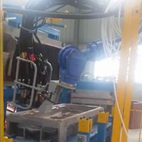 汽车座椅发泡设备自动化流水线