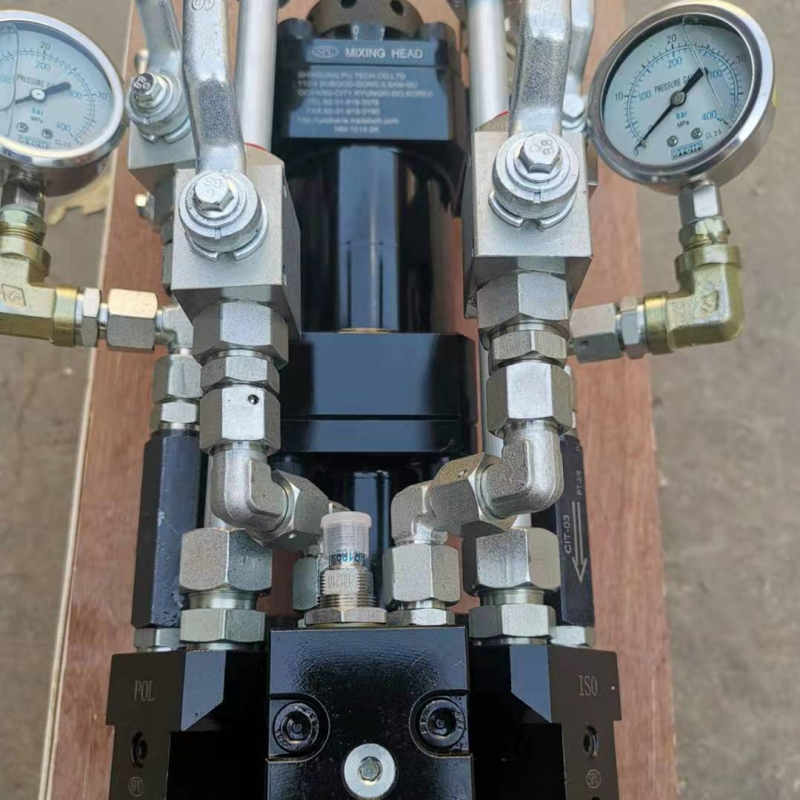 聚氨酯高压发泡机混合头