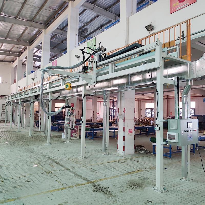 珠海大型车载冰箱聚氨酯发泡机生产线